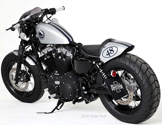 Harley Forty Eight Cafe Racer