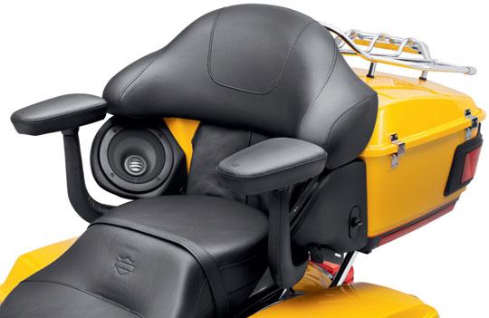 new tour-pak passenger armrests from harley-davidson at cyril huze