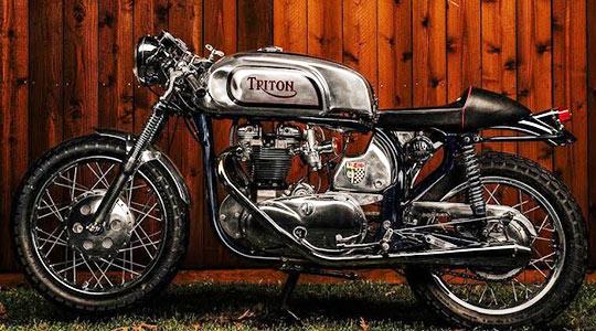 """1966 Triton Cafe Racer."""""""