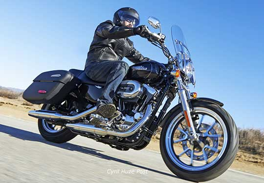 Sportster Superlow 1200T  The New Very Light Tourer From