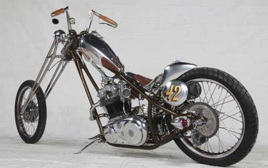 Norton Commando Chopper At Cyril Huze Post Custom Motorcycle News