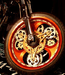 Spin The Wheel at Cyril Huze Post – Custom Motorcycle News