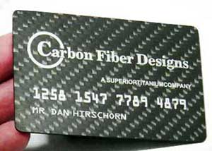 Real Carbon Fiber Business Cards at Cyril Huze Post – Custom ...