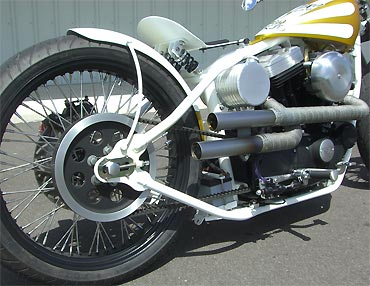 El Toro Blanco  A Buell Or Sportster Conversion Job  $12,995