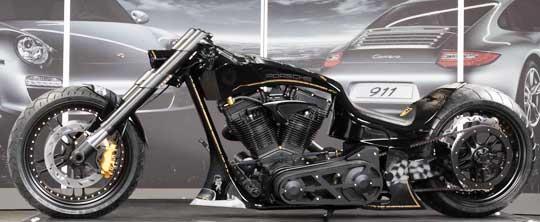 porsche tribute bike  cyril huze post custom motorcycle news