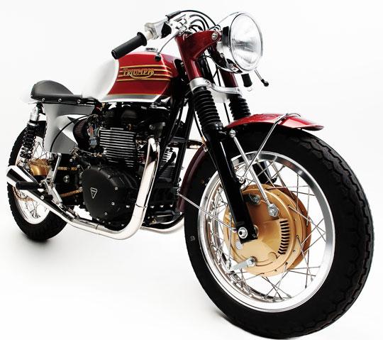 Champions Moto Offers 3 Bespoke Triumph Models at Cyril Huze Post ...