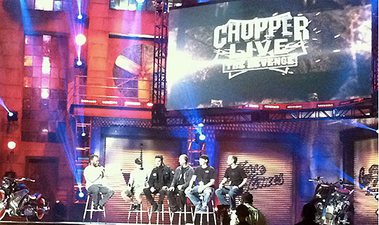 Discovery Channel Build-Off. Chopper Live – The Revenge. And The