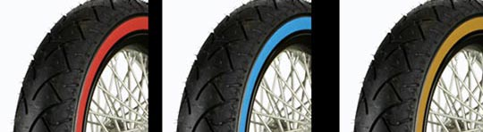 Custom White And Color Wall Tires For 16 17 18 19
