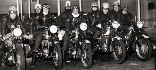 1964 The Leather Boys Later Generation Rockers On Modded Cafe Racers