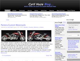 cyrilhuzeblogscreenshot