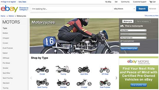 Did You Know Online Sales On Ebay Garage At Cyril Huze Post Custom Motorcycle News