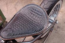Gator Solo Bobber Seat At Cyril Huze Post Custom Motorcycle News