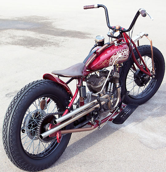 swiss made custom 1930 indian scout at cyril huze post custom motorcycle news. Black Bedroom Furniture Sets. Home Design Ideas