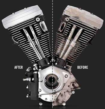 Restore The Rumble And Look Of Your Harley Engine At Cyril Huze