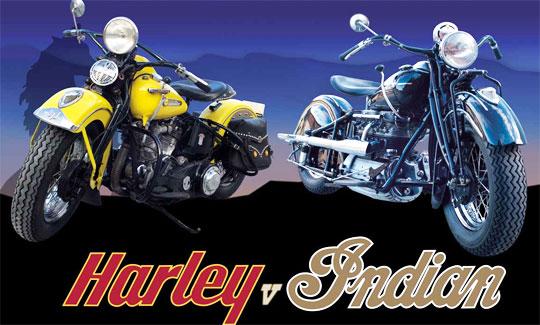 Harley vs indian