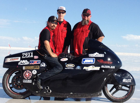 World's Fastest Street Legal Harley-Davidson at Cyril Huze Post ...