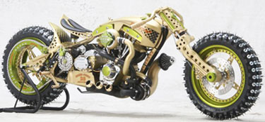 Ice Racing Custom Motorcycle Ouch At Cyril Huze Post Custom