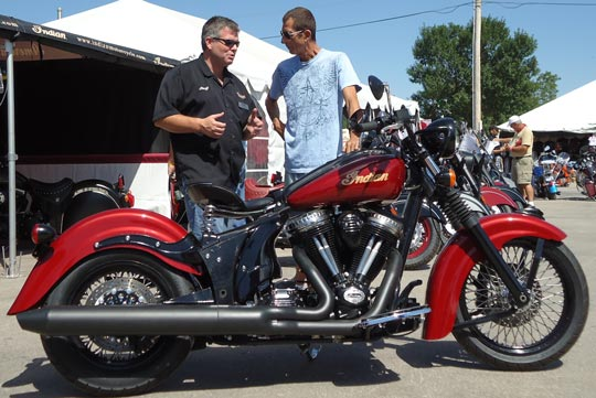 Sturgis Bike Week Indian Concept Motorcycle At Cyril Huze Post