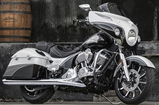 For The Second Year Indian Motorcycle Partnered With Jack Daniels To Have A Custom Bagger Designed By Klock Works Cycles Of Mitchell South Dakota