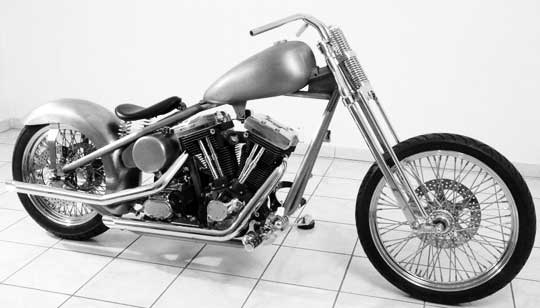 Easy To Build Custom Chopper Chassis at Cyril Huze Post – Custom ...