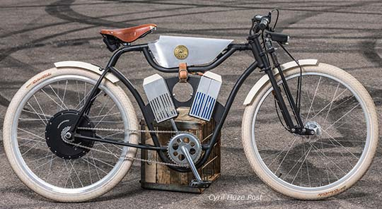 Bringing To Market 2 Retro Style Motorized Bicycles At Cyril Huze