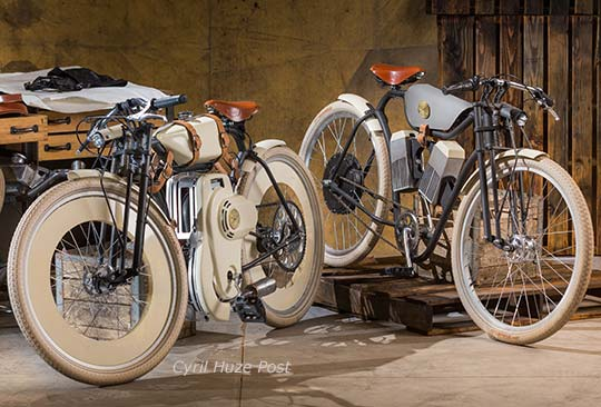Bringing To Market 2 Retro Style Motorized Bicycles At