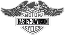 harley-davidson logo. bar and shield forever. at cyril huze post
