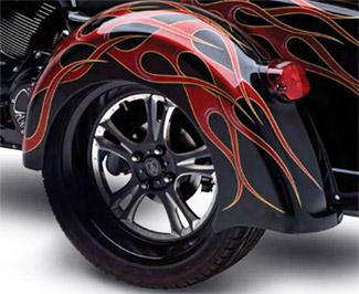 Arlen Ness Street Dragger Rear Fender For Harley Davidson Tri Glide