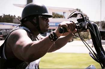 Blacks, Latinos dispel myth of 'typical' Harley rider ...  |African American Harley Riders
