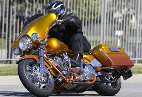 Progressive Suspension Touring Link Harley-Davidson Chassis