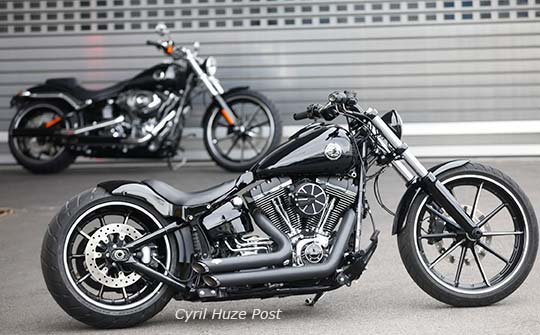 Riding A 30 Inch Custom Bagger How Does It Feel At Cyril Huze Post Custom Motorcycle News