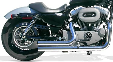 Deep Rich Sound Harley Sportster Exhaust  Hear It  at Cyril