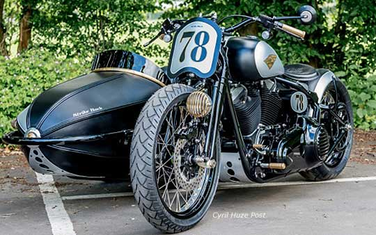 Harley Cross Bones Sidecar at Cyril Huze Post – Custom Motorcycle News