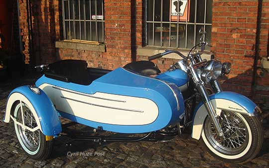 Harley Davidson Sidecar Replica For Big Twins 1936 1958 At