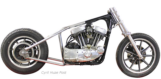 Turning Your 1982-2003 Sportster Into A Hardtail at Cyril Huze Post ...