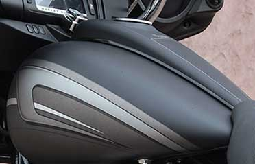Low-Profile Bagger And Softail Dash For A Clean Stretch Look
