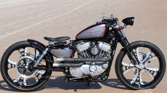 Customized Harley Sportster Still Serviceable By Harley