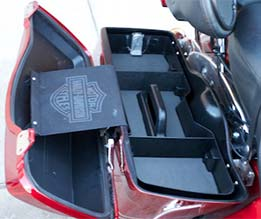 Warlord Organizer Tray For Harley-Davidson Hard Saddlebags at Cyril