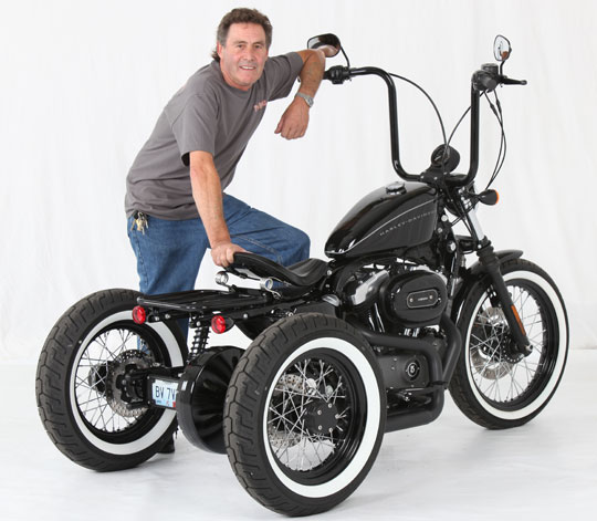 Custom sportster nighster trike at cyril huze post custom not solutioingenieria Image collections